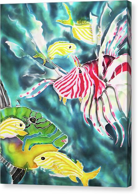 Bahamaian Delicacies Canvas Print
