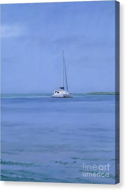 Bahamian Canvas Print - Bahamian Boat by Alessandro Raho