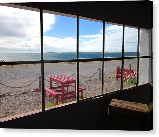 Bahia Bustamante Window Canvas Print