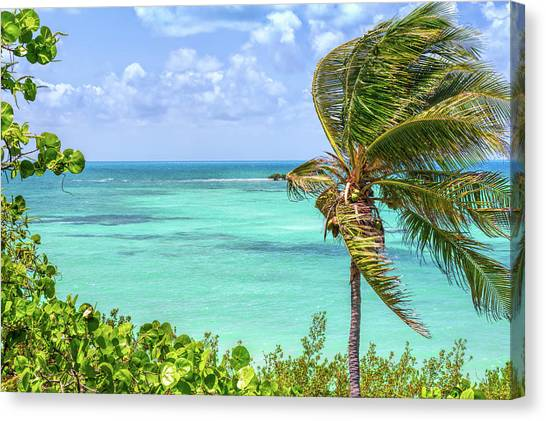 Bahia Honda State Park Atlantic View Canvas Print