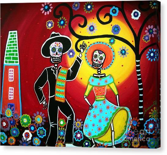 Bailar Canvas Print