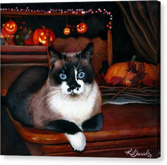 Top Cat Canvas Print   Bailey By Kate Daniels