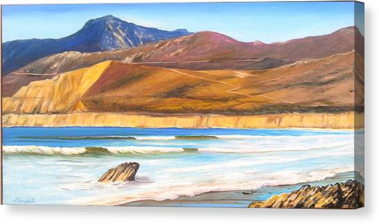 Ucsb Canvas Print - Baja Jalama by Jeffrey Campbell