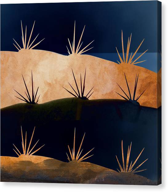 Mexico Canvas Print - Baja Landscape Number 1 Square by Carol Leigh