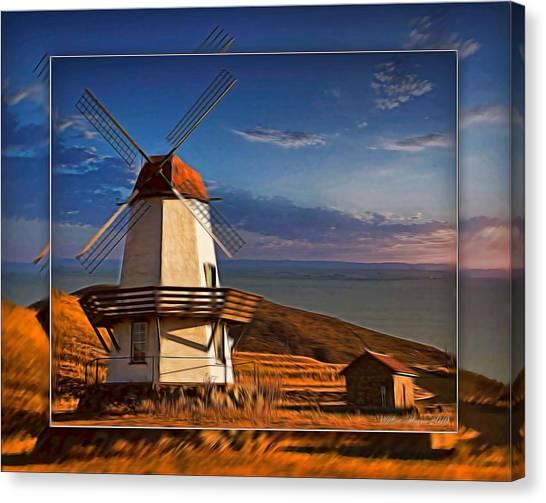 Baker City Windmill_1a Canvas Print