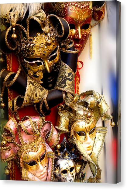 Bal Masque Canvas Print
