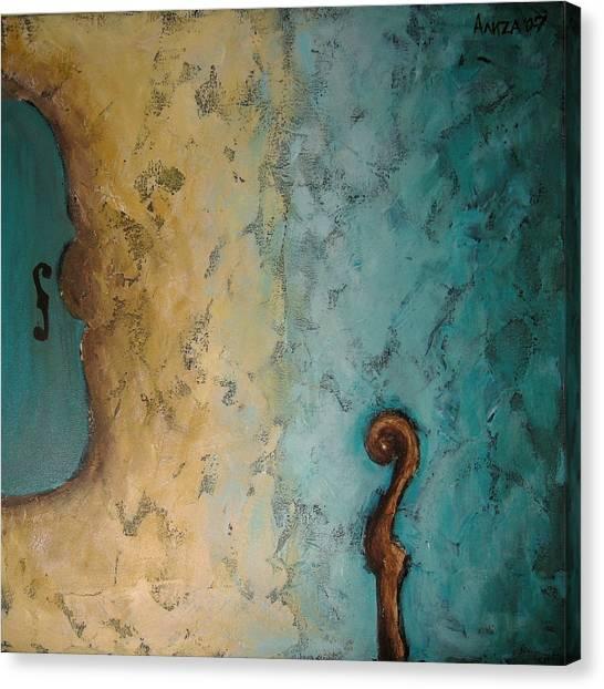 Balance Canvas Print by Aliza Souleyeva-Alexander