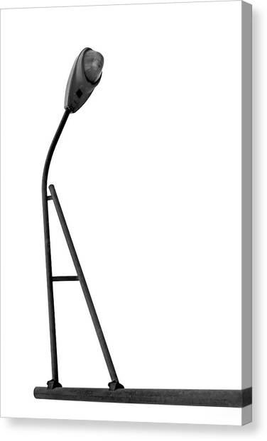 Balance Beam Canvas Print - Balance Beam - Street Light - A by Nikolyn McDonald