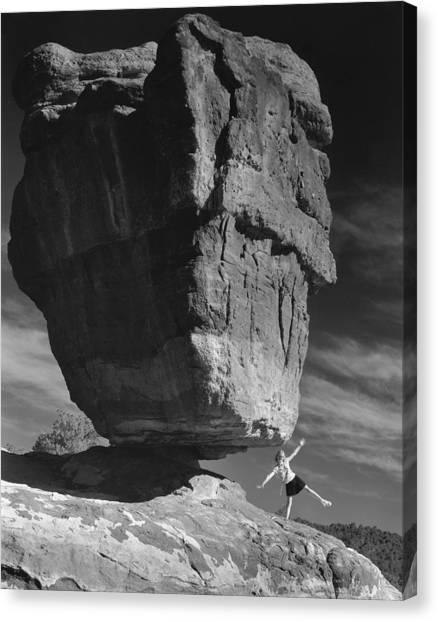 Balance Canvas Print by Jim Furrer