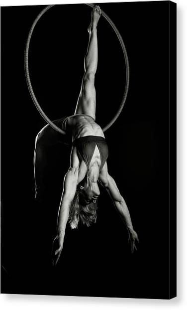 Balance Of Power 14 Canvas Print by Monte Arnold