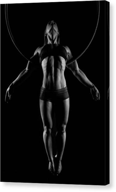 Balance Of Power - Symmetry Canvas Print