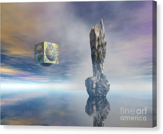 Balance Of Silent Machinery Canvas Print