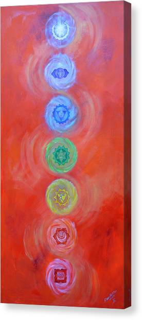 Balance Canvas Print by Sundara Fawn