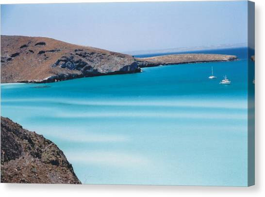 Balandra Bay Canvas Print by Kathy Schumann