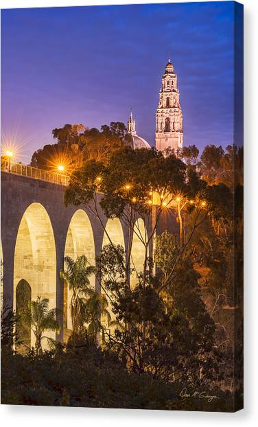 Balboa Bridge Canvas Print
