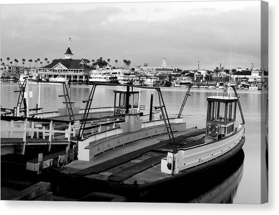 Balboa Ferry Canvas Print