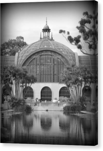 The Prado Canvas Print - Balboa Park Botanical Garden by Karyn Robinson