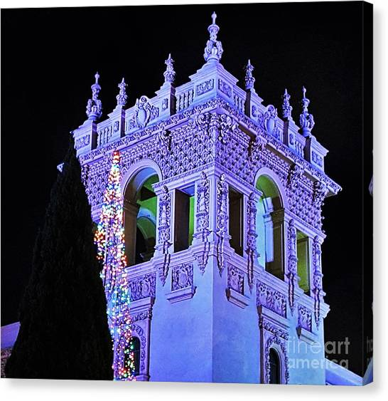 Balboa Park December Nights Celebration Details Canvas Print
