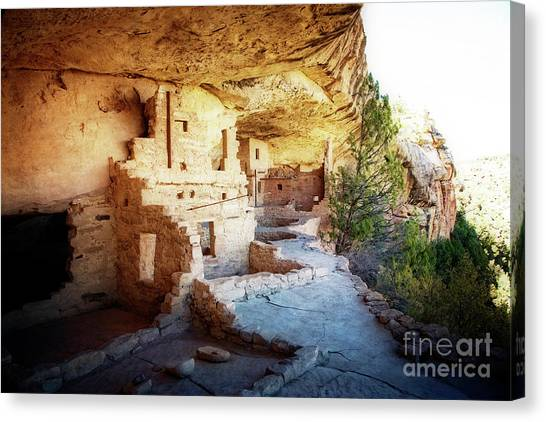 Canvas Print featuring the photograph Balcony House by Scott Kemper