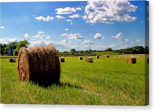 Bales Of Clouds Canvas Print