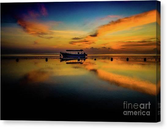 Magical Bali Sunrise Canvas Print