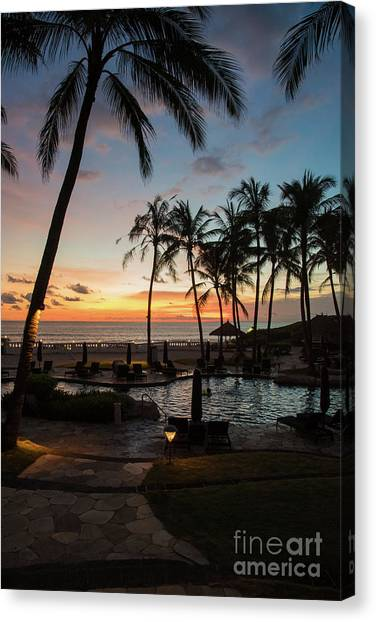 Bali Sunset Canvas Print