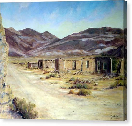 Ballarat California Canvas Print by Evelyne Boynton Grierson