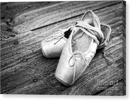 Ballet Shoes Canvas Print - Ballerina by Delphimages Photo Creations