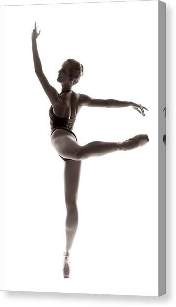 Ballet Canvas Print - Ballerina Grace by Steve Williams