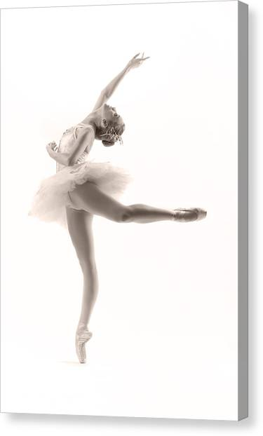 Ballerina Canvas Print - Ballerina by Steve Williams