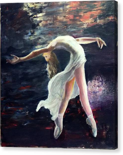 Ballet Dancer 2 Canvas Print