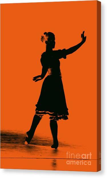 Ballet Girl Canvas Print