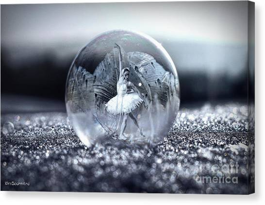 Ballet In A Bubble Canvas Print