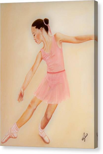 Ballet Practice Canvas Print