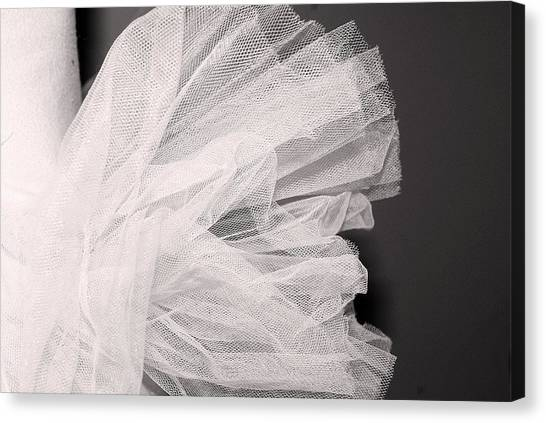 Ballet Tutu Canvas Print
