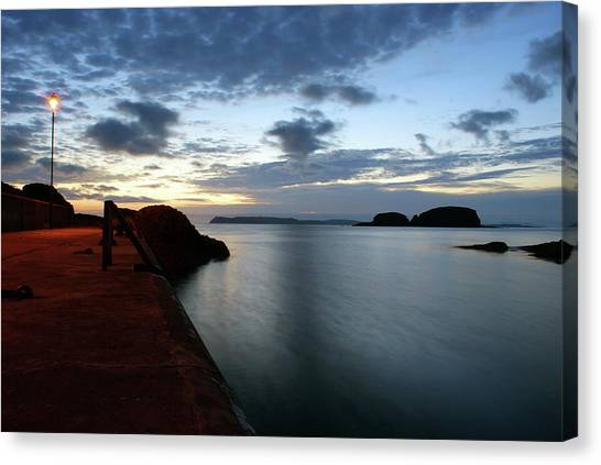 Ballintoy Dawn Canvas Print
