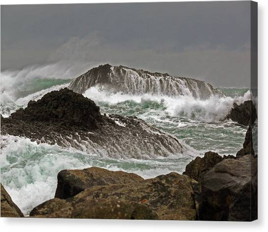 Ballintoy Harbour Canvas Print