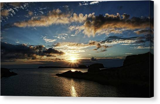 Ballintoy Sunrise Canvas Print