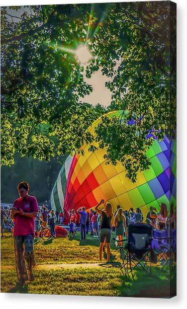Balloon Fest Spirit Canvas Print