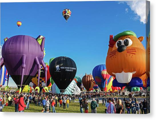Balloon Fiesta Albuquerque I Canvas Print
