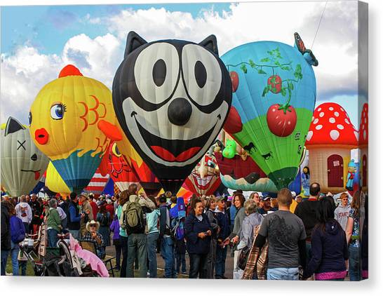 Balloon Fiesta Albuquerque II Canvas Print