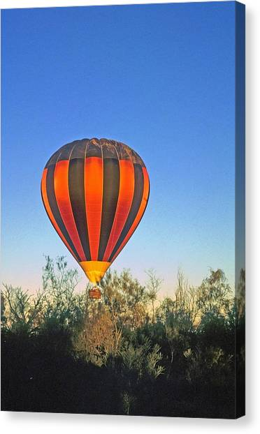 Balloon Launch Canvas Print