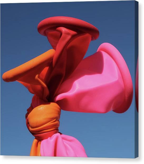 Balloon Lips Canvas Print