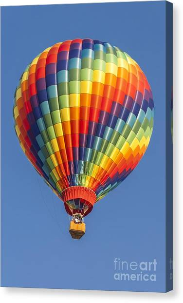 Ballooning In Color Canvas Print