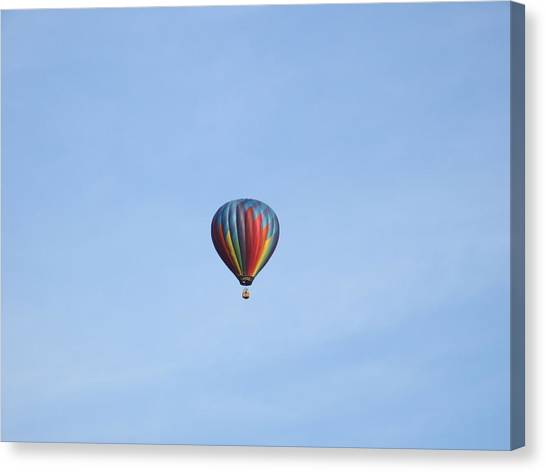 Ballooning Canvas Print by Karen Moulder