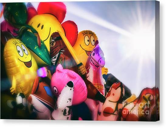 Balloons Canvas Print by Alessandro Giorgi Art Photography