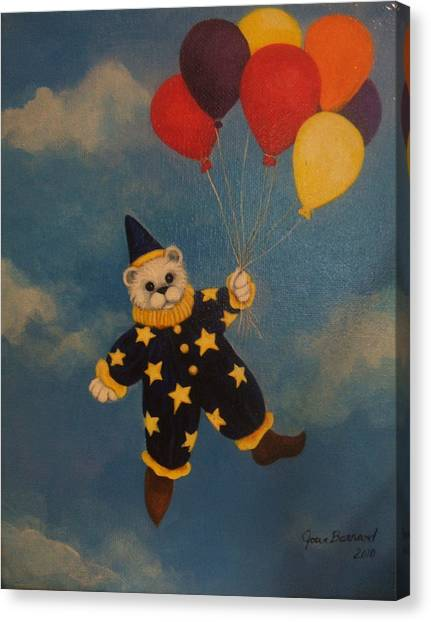 Balloons Canvas Print by Joan Barnard