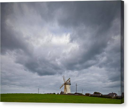 Renovation Canvas Print - Ballycopeland Windmill, Built Circa by Panoramic Images
