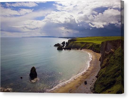 Waterford Canvas Print - Ballydowane Beach, Copper Coast, County by Panoramic Images