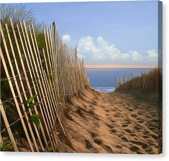 Balston Sunrise Canvas Print